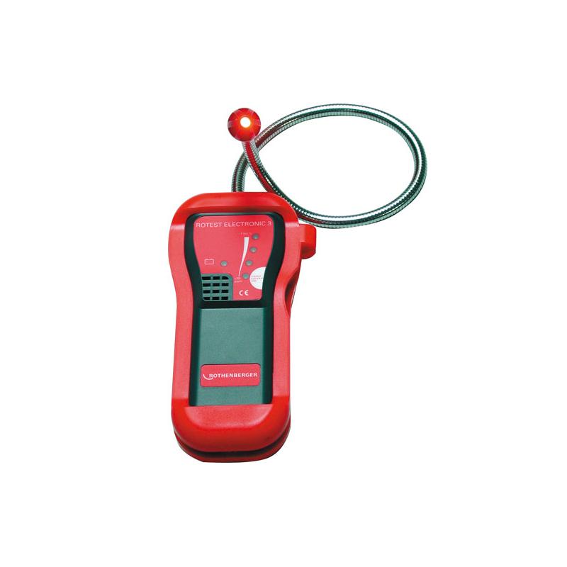Elektroniczny wykrywacz nieszczelności gazowych ROTHENBERGER ROTEST ELECTRONIC 3