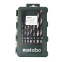Zestaw wierteł do drewna METABO (3-10mm) 8 części
