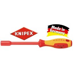 Wkrętak nasadowy izolowany KNIPEX 10 mm 980310