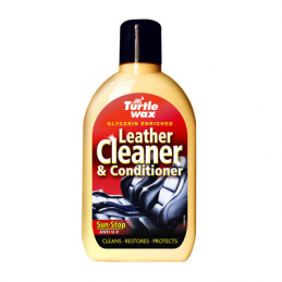 Mleczko do pielęgnacji skóry TURTLE WAX Leather Cleaner&Conditioner
