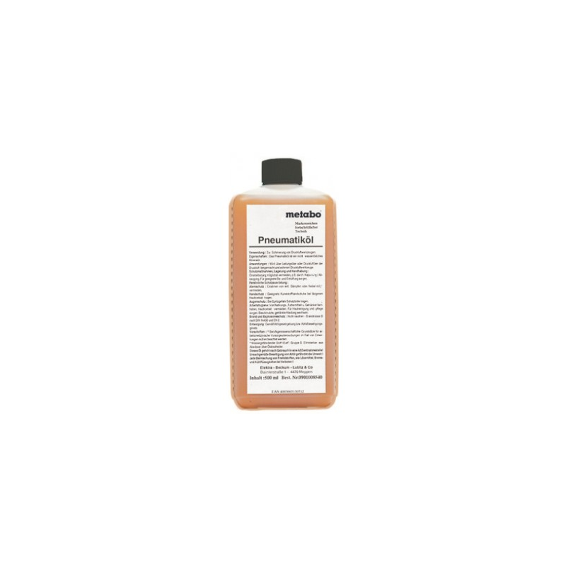 Olej do zastosowań pneumatycznych METABO PNEUMATICOL  0,5 l