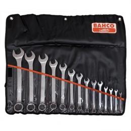 Zestaw kluczy płasko-oczkowych 6-32mm BAHCO