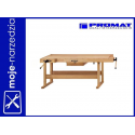 Stół stolarski PROMAT 2000x640x110mm (4000870152)