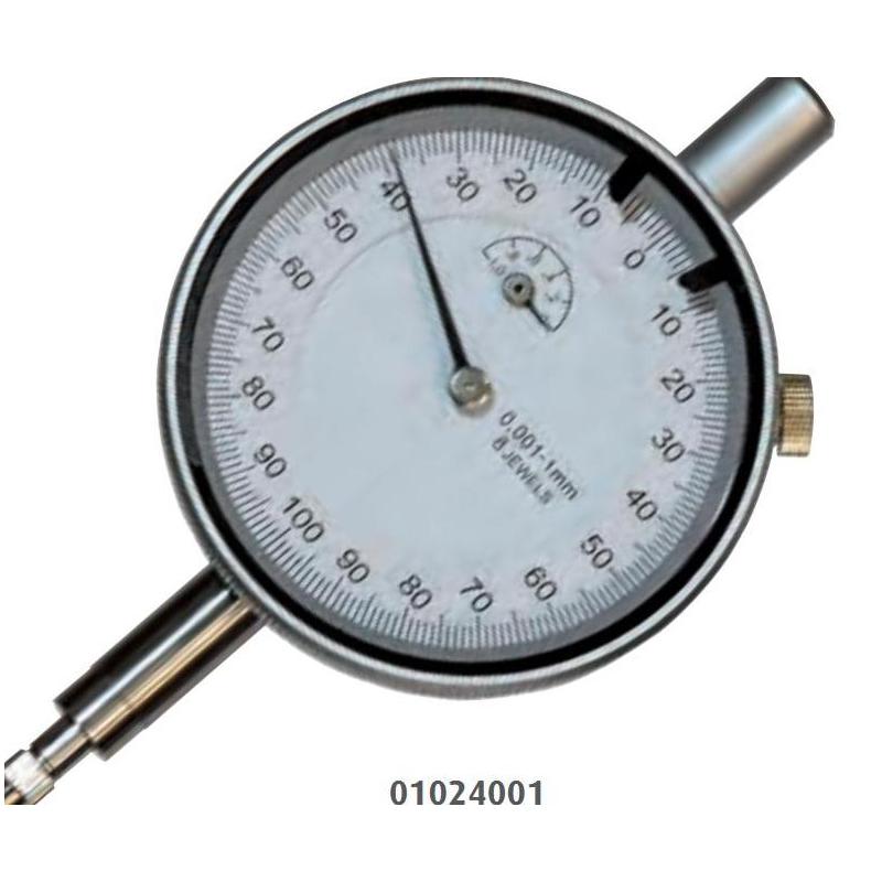 Czujnik zegarowy MIB MESSZEUGE zakres 1mm