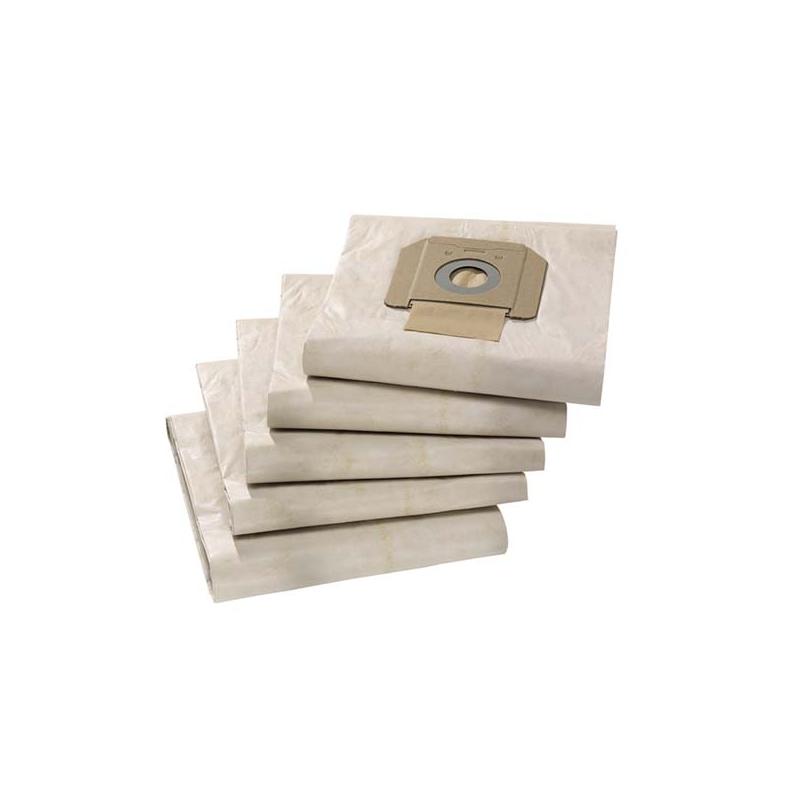 Papierowe worki do odkurzaczy NT48, NT65, NT70, NT75, NT80 KARCHER (5 szt)