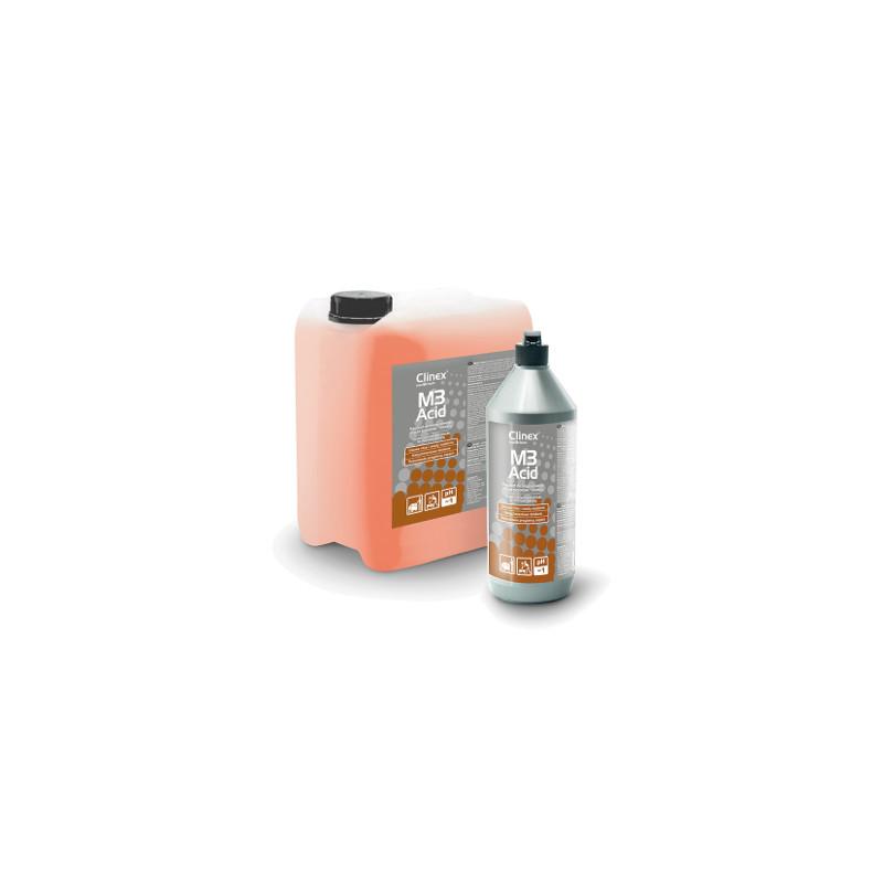 Kwasowy preparat do mycia posadzek i pomieszczeń sanitarnych CLINEX M3 ACID 5L
