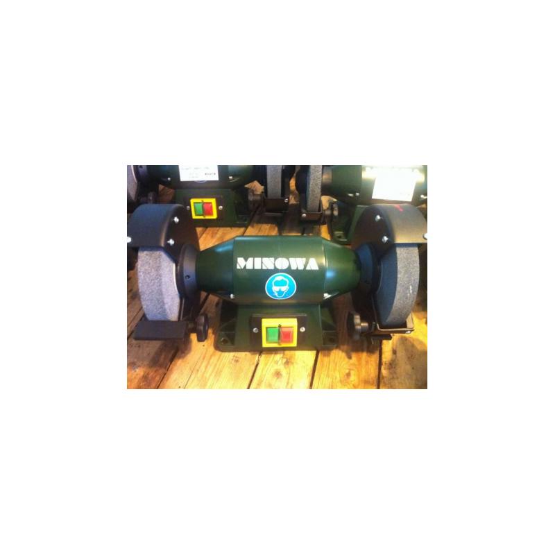 Szlifierka dwutarczowa stołowa MINOWA METALL DS 200