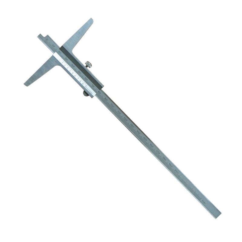 Głębokościomierz noniuszowy 200mm/100mm MIB MESSZEUGE