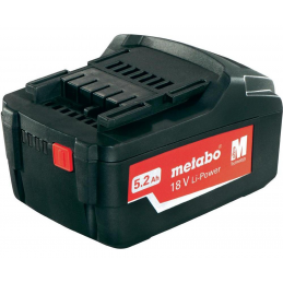 Akumulator 18V 5,2 Ah METABO