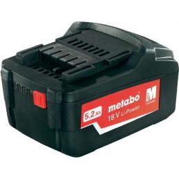 Akumulator 18V 5,2 Ah METABO
