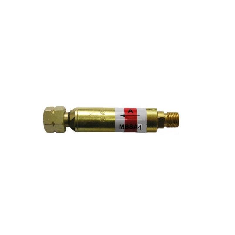 Minibezpiecznik przypalnikowy PERUN MBSA-1 1/4 do acetylenu