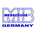 Kątownik ślusarski płaski  MIB MESSZEUGE 75 mm x 50 mm