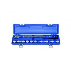 Klucz dynamometryczny PROJAHN 1/2'' 40-200NM + 10 NASADEK