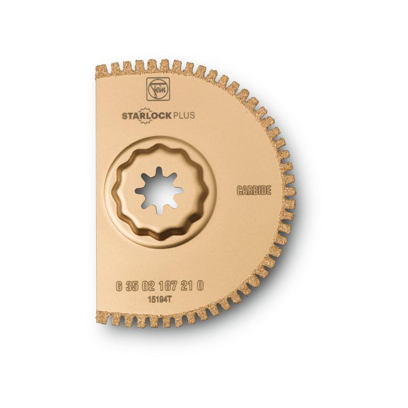 Brzeszczot z węglików spiekanych, ścięty fi 90mm, TYP 187 Fein MultiMaster