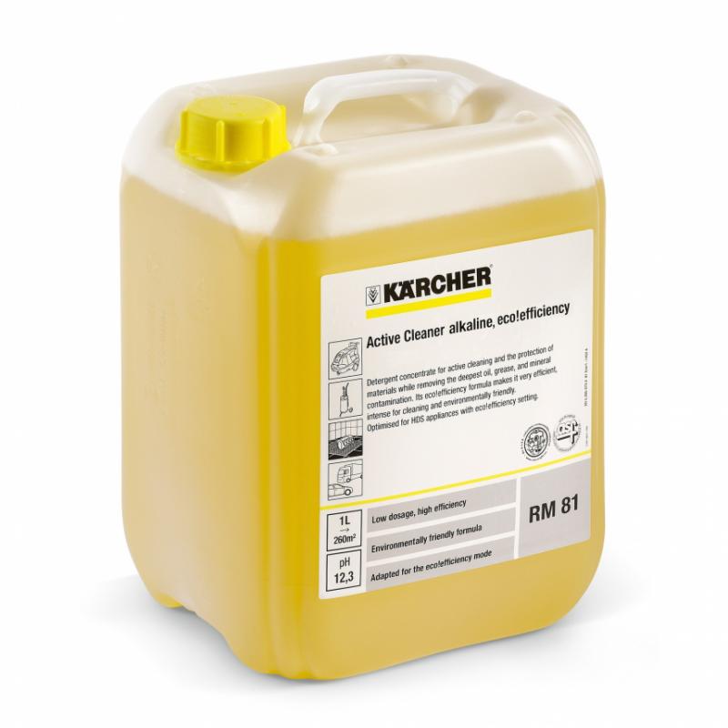 Aktywny środek czyszczący KARCHER  RM 81 ASF eco!efficiency 10L
