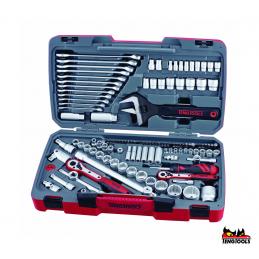 127 elementowy zestaw narzędzi nasadowych TENG TOOLS