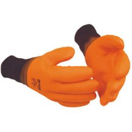 Grube rękawice robocze z podszyciem GUIDE 906, rozmiar 10 - GUIDE