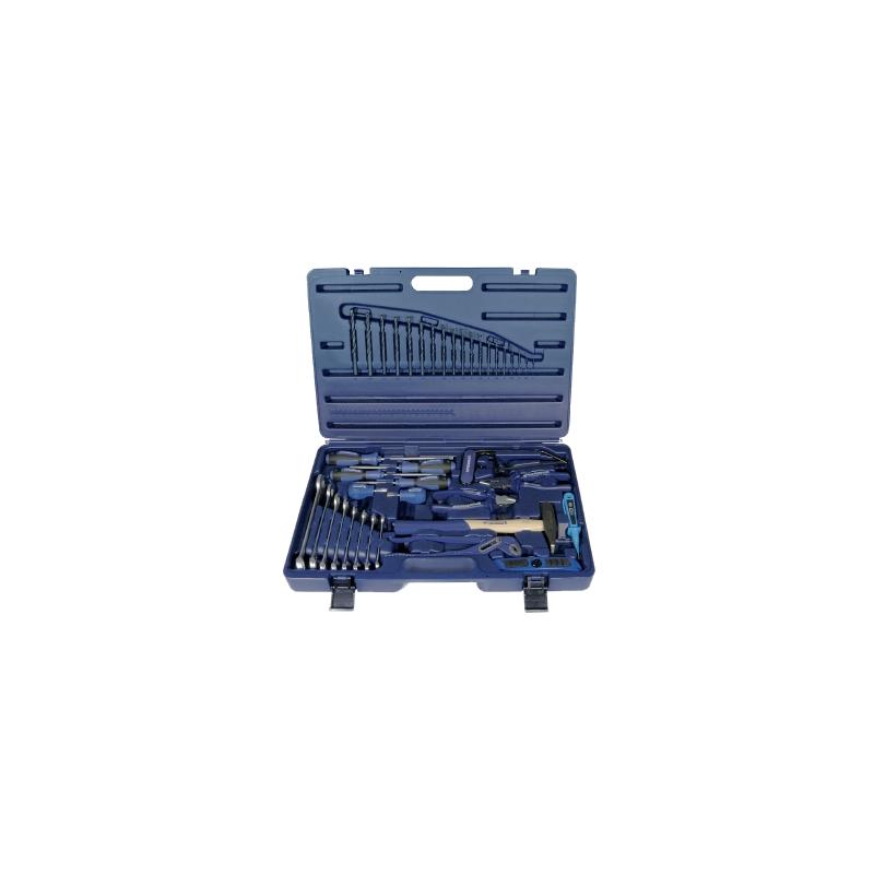 Zestaw narzędzi ręcznych w walizce PROMAT 40 części .
