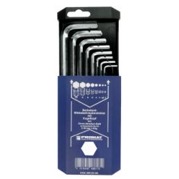 Zestaw kluczy trzpieniowych sześciokątnych z główką kulistą 2-10mm PROMAT
