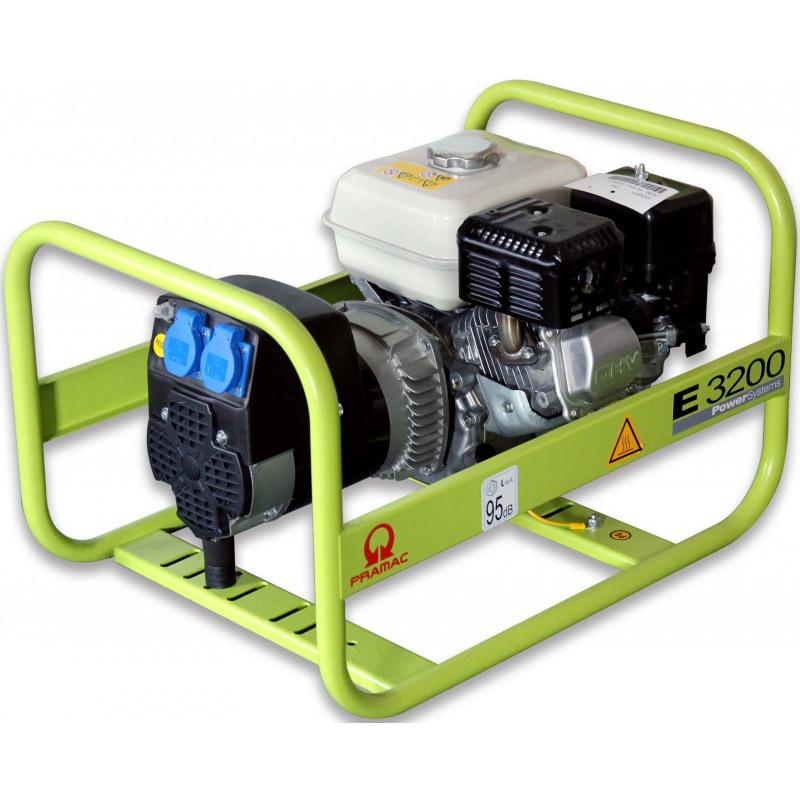 Agregat prądotwórczy jednofazowy PRAMAC E3200 2,5kVA benzyna