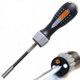 Wkrętak z grzechotką oraz diodą LED BAHCO 808050L