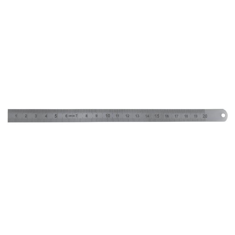 Przymiar liniowy giętki stalowy 200x13x0,5mm
