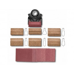 Zestaw 22 końcówek szlifierskich do szlifowania kształtowego FEIN