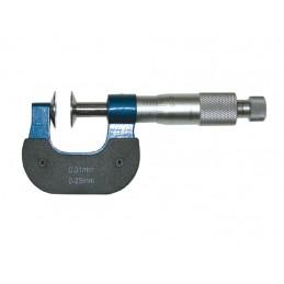 Mikrometr zewnętrzny talerzykowy MIB MESSZEUGE 0-25 mm