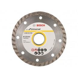 Diamentowa tarcza tnąca BOSCH 115x22,23mm ECO Universal
