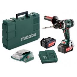Wiertarko-wkrętarka akumulatorowa  METABO BS 18 LTX Impuls 2x4,0Ah