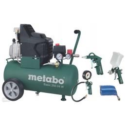 Kompresor tłokowy METABO BASIC 250-24 W + LPZ4