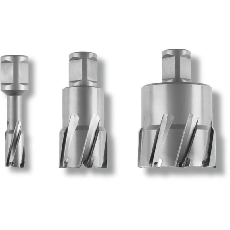 Frez trepanacyjny / Wiertło rdzeniowe FEIN HM Ultra Weldon  ? 27/35 mm