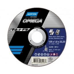 Tarcza ścierna T41 230x2,0x22,23mm NORTON OMEGA A 36 W