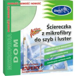 Ściereczka z mikrofibry do mycia szyb i luster CLINEX EXPERT +