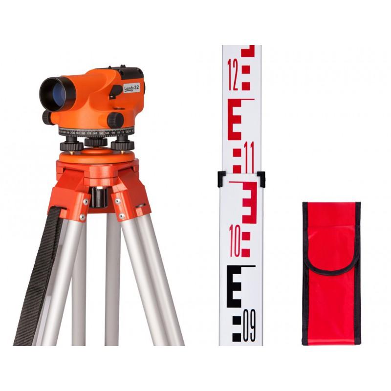 Niwelator optyczny GEO FENNEL LANDY 32 zestaw N32-easy , statyw, łata