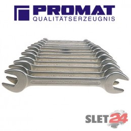 Zestaw kluczy płaskich PROMAT 6-32mm 12szt.