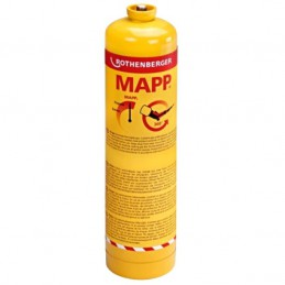 "Pojemnik z gazem ROTHENBERGER MAPP GAS gwint EU 7/16"" 360°, 750ml"