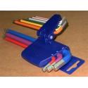 Zestaw kluczy imbusowych 1,5-10 mm PROMAT