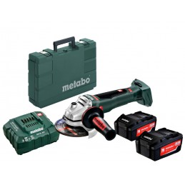 Akumulatorowa szlifierka kątowa METABO WB 18 LTX BL 125 Quick