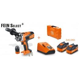 Wiertarko-wkrętarka  FEIN ASCM 18 QM Select