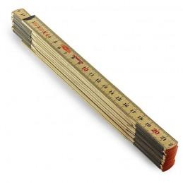 Metr stolarski długość 2m. 12 elementów