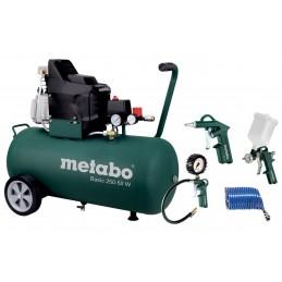 Metabo Basic 250-50 W Set Sprężarka Basic