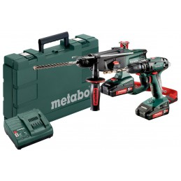 Metabo Combo Set 2.3.4 18 V Maszyny akumulatorowe w zestawach
