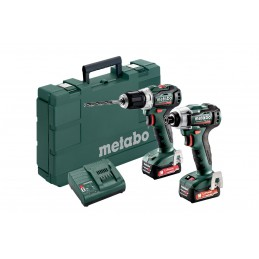 Metabo Combo Set 2.7.3 12 V BL Maszyny akumulatorowe w zestawach