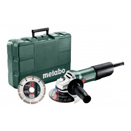 Metabo W 850-125 Set Szlifierki kątowe