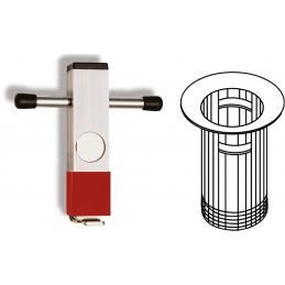 Klucz do baterii umywalkowej (Ventilhalter Universal ) ALARM WERKZEUGE
