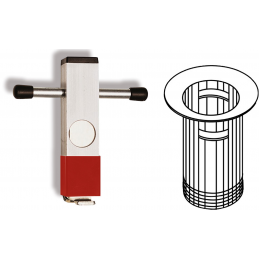 Klucz do montażu syfonów w umywalkach (Ventilhalter Universal ) ALARM WERKZEUGE
