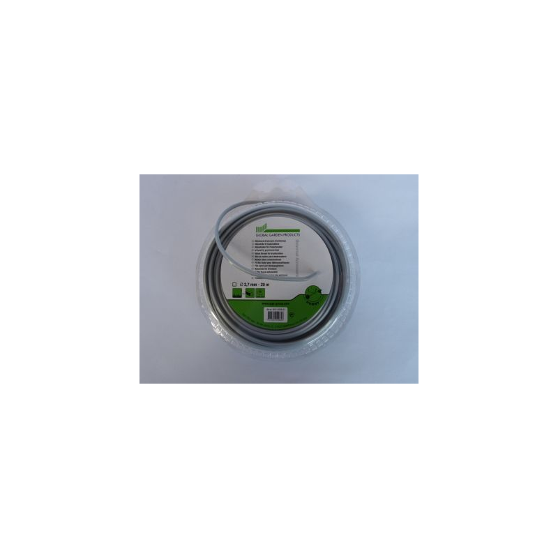 Żyłka STIGA 2,7 mm/20 m , kwadrat