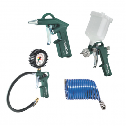 Zestaw narzędzi pneumatycznych METABO LPZ 4