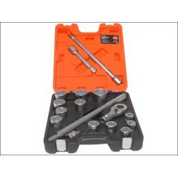 Zestaw narzędzi 3/4'' BAHCO SLX17 (17 części)